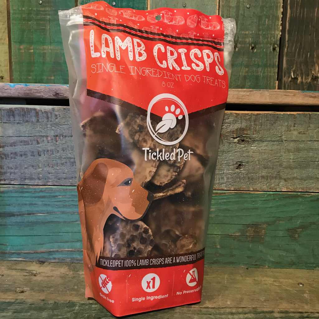 Tickled Pet Lamb Crisps