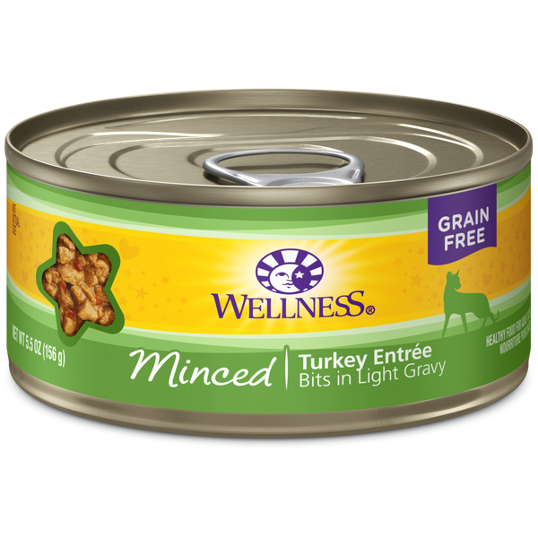 Wellness Cat Minced Turkey Entree 5.5oz