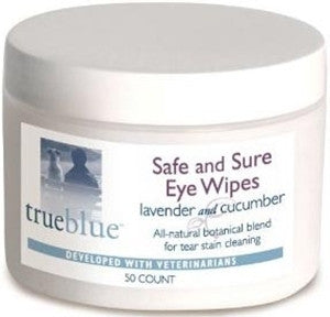 True Blue Safe & Sure Eye Wipes 50ct