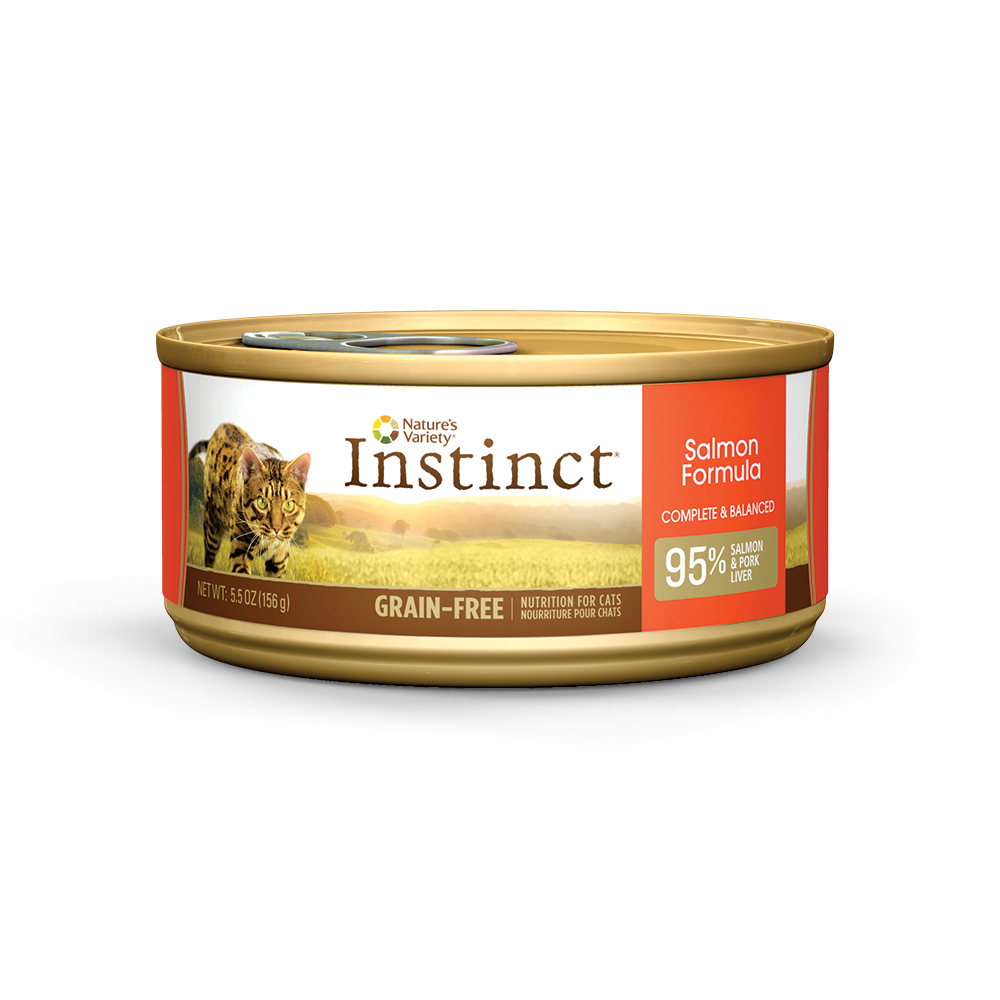 Nature's Variety Instinct Salmon Grain Free Can Cat Food