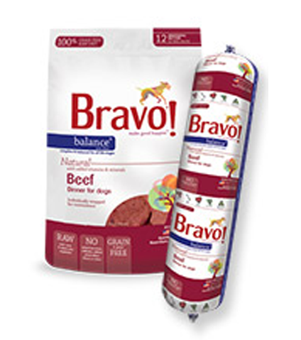 Bravo Balance Beef Frozen Raw Dog Food