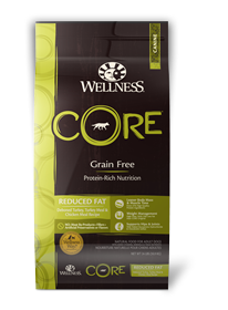 Wellness Reduced Fat CORE Grain Free Dry Dog Food