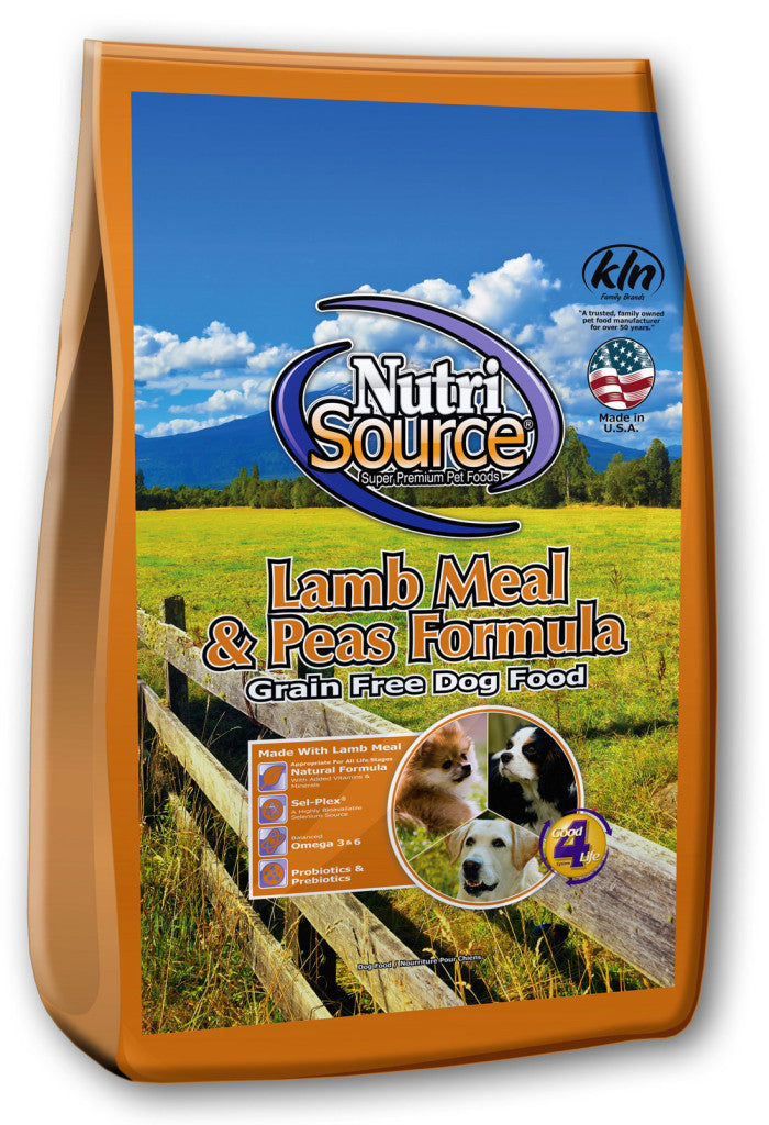 NutriSource Lamb & Pea Grain Free Dry Dog Food