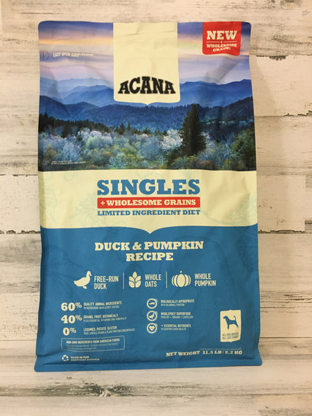 Acana Singles + Wholesome Grains Duck & Pumpkin Dog Food