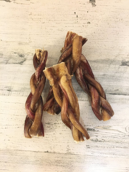 Dog Bully Sticks Braided