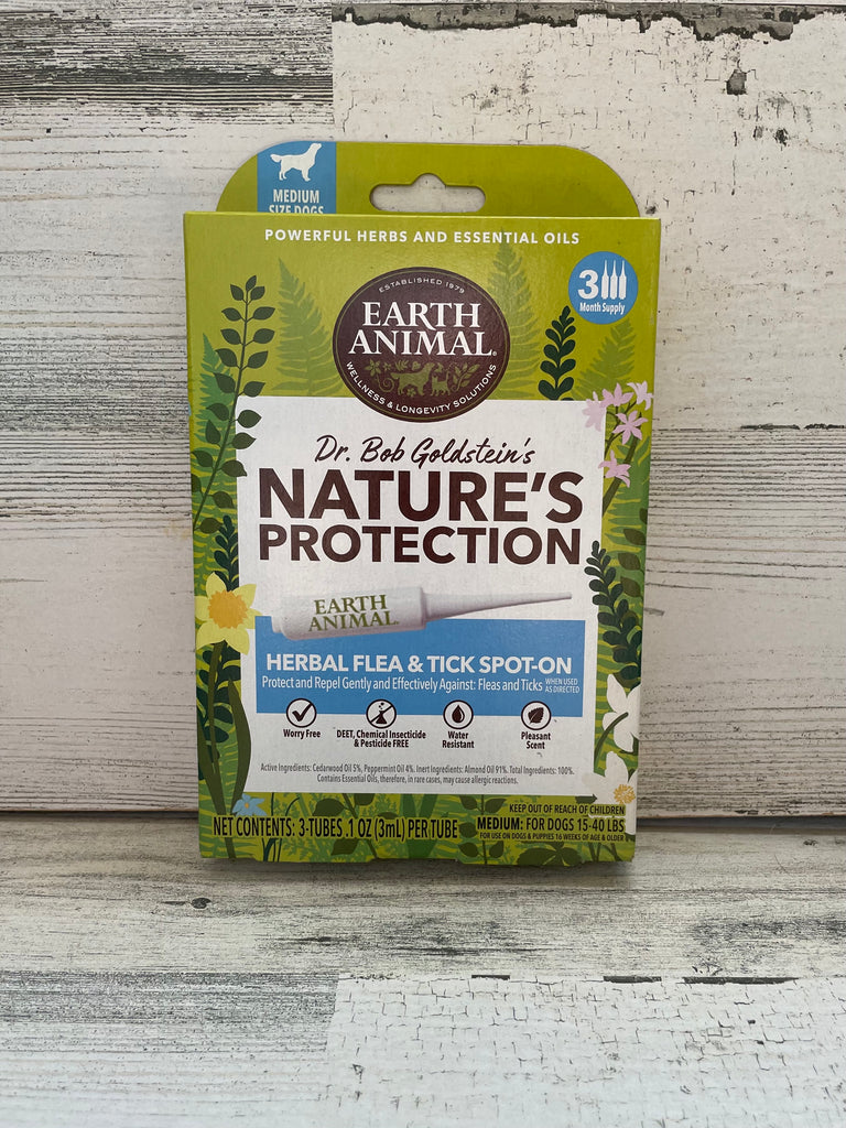 Earth Animal Nature's Protection Herbal Flea & Tick Spot-On