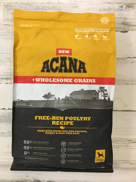Acana Free-Run Poultry Wholesome Grain Dry Dog Food