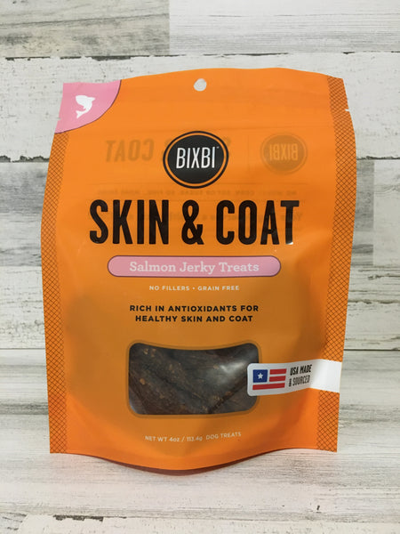 Bixbi Salmon Skin & Coat Jerky Treats