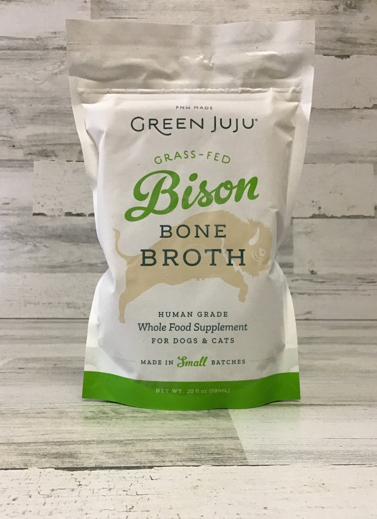 Green Juju Grass Fed Bison Broth 20oz