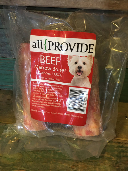 "All Provide Beef Marrow Bones 6"", 2 pk"