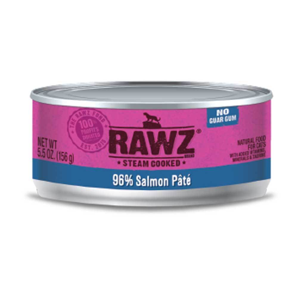 Rawz 96% Salmon Pate Cat Can 5.5oz