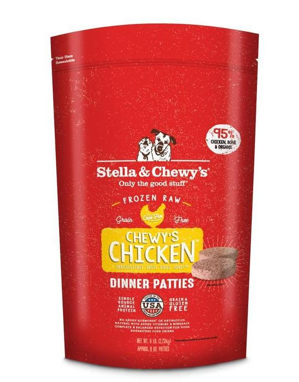 Stella & Chewy's Chicken Frozen Raw Dog Food