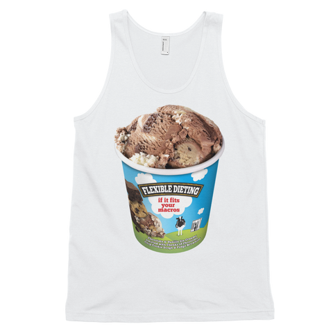 Ben & Jerry's Flexible Dieting Men's Tank