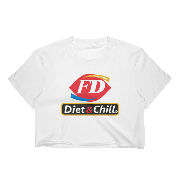 DIET AND CHILL Crop Top