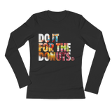 DIFT DONUTS Ladies Long Sleeve