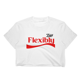 DIET FLEXIBLY Crop Tee