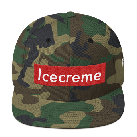 ICECREME Stay Litty Snap Back