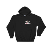 Do It For The Donuts v3 Donut Back Unisex Hooded Sweatshirt
