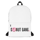 DONUT GANG White Back Pack