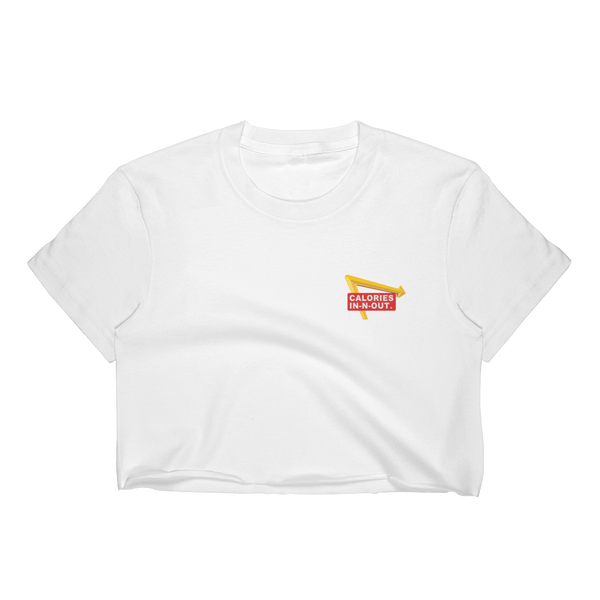CALORIES IN CALORIES OUT Minimalist Crop Top