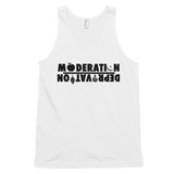 MODERATION/DEPRIVATION Men's Tank