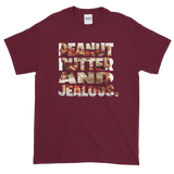 Maroon PEANUT BUTTER AND JEALOUS TEE