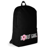 DONUT GANG BLACK BACK PACK