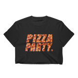 PIZZA PARTY CROP TEE