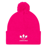 ADDICTED Pom Knit Cap