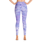 PURPLE DONUT CAMO Yoga Leggings