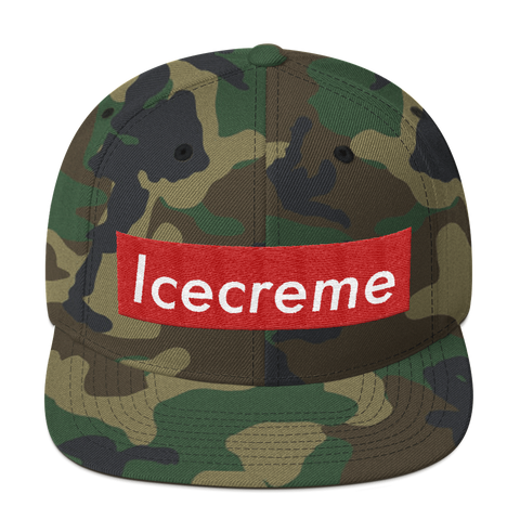 ICECREME Stay LITTY Snap Back Hat