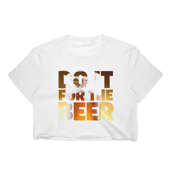 DIFT Beer Crop Top