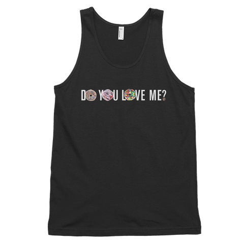 DO YOU LOVE ME? Mens Tank