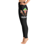 ADDICTED BLACK Yoga Leggings