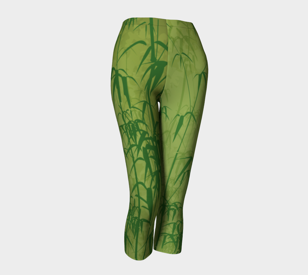 Lime Bamboo Capris