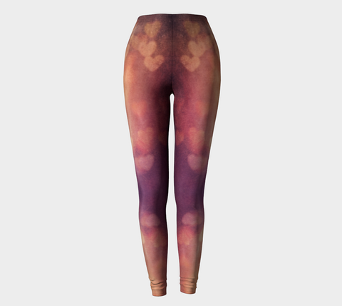 Grungy Heart Desert Leggings