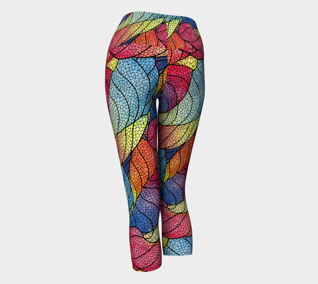 Fishing For Compliments Yoga Capris