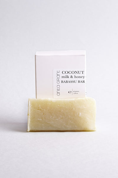 Anita Grant - Coconut Milk & Honey Shampoo Babassu Bar