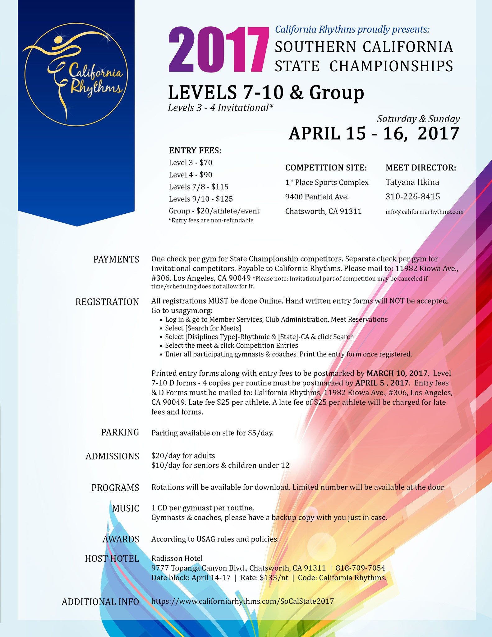 2017 SoCal State - Levels 9-10 & Group