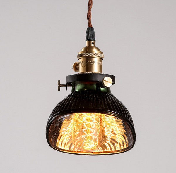 INDUSTRIO COLLECTION GLASS EDISON LIGHT