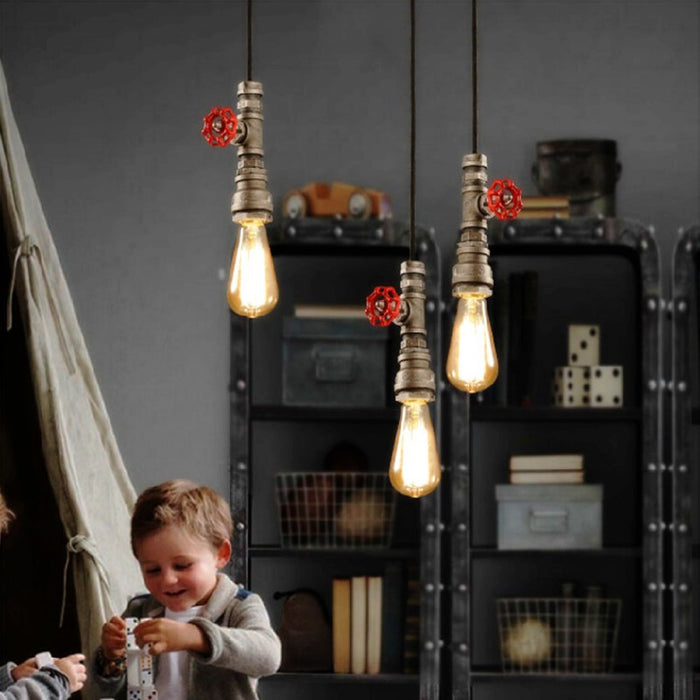 INDUSTRIO COLLECTION METAL FIRE COPPER LIGHT