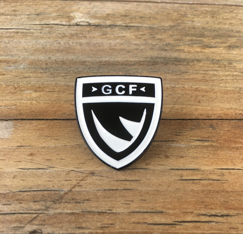 GCF Shield Pin - Enamel