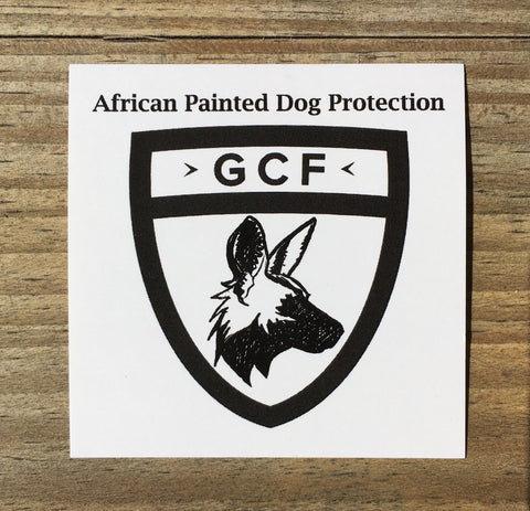 African Painted Dog Protection Sticker