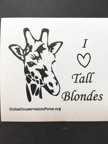 I Heart Tall Blondes
