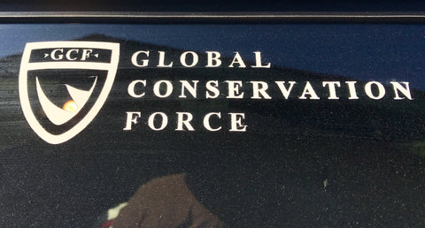 Global Conservation Force Vinyl decal