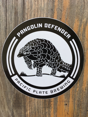 Pangolin Defender Sticker