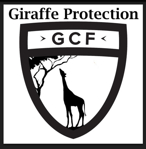 GCF Giraffe Protection Sticker