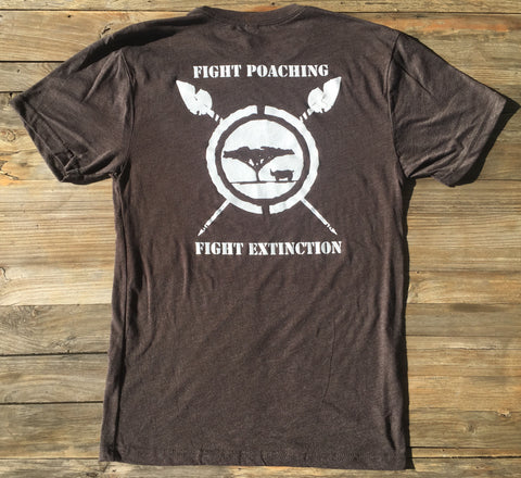 Fight Poaching - Fight Extinction T-shirt