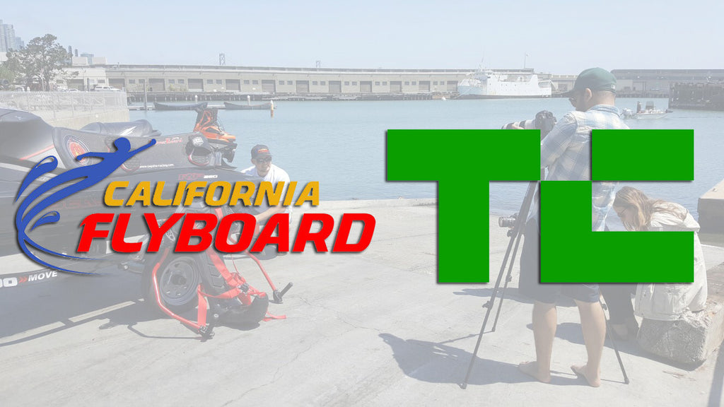 California Flyboard Featured on Tech Crunch!