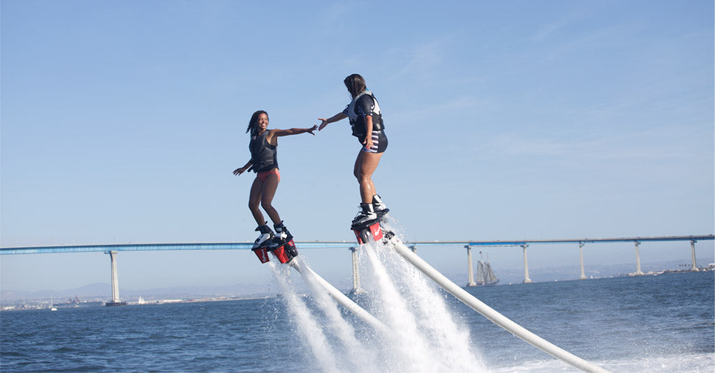 How to Balance on a Flyboard